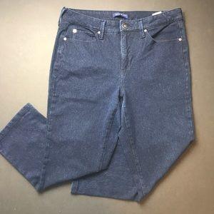 Bandolino Jeans - Bandalino dark blue cropped skinny. EUC.